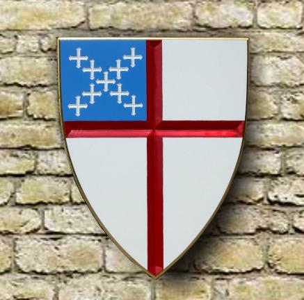 The shield of the Episcopal Church